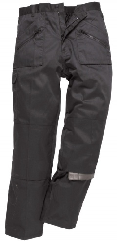 Action Trousers, With Back Elastication