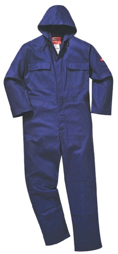 Bizweld(TM) Hooded Coverall