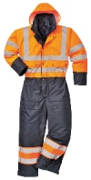 Contrast Coverall - Lined