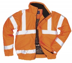 Hi-Vis Breathable Bomber Jacket (Class 3)