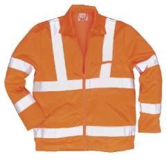 Hi-Vis Poly-cotton Jacket, GO/RT