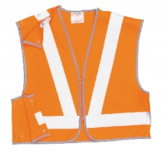 Hi-Vis  Short Vest, GO/RT