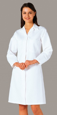 Ladies Food Coat, One Pocket