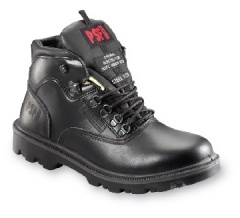 Black Kevlar Lined Cut Resistant Boot