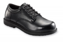 Black Oxford Shoe with Anti-Slip Outsole