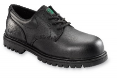 Black Shoe with Non-Metal Toecap