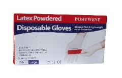 Powdered Latex Disposable Glove