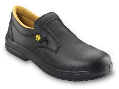 Black Casual Safety Shoe