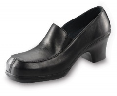 Black Casual Shoe with Non-Metal Toecap
