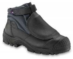 Black Metatarsal Boot, S3, Non-Metal Toecap & Midsole